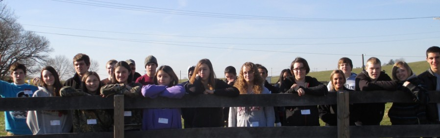 Students at Lisnageer Farms, Coatesville, Chester County