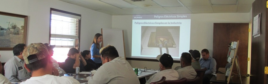Mushroom Industry Safety Training at the American Mushroom Institute